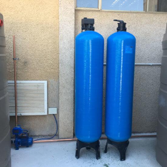 Geezers Plumbing | Backup Water Tank Installation